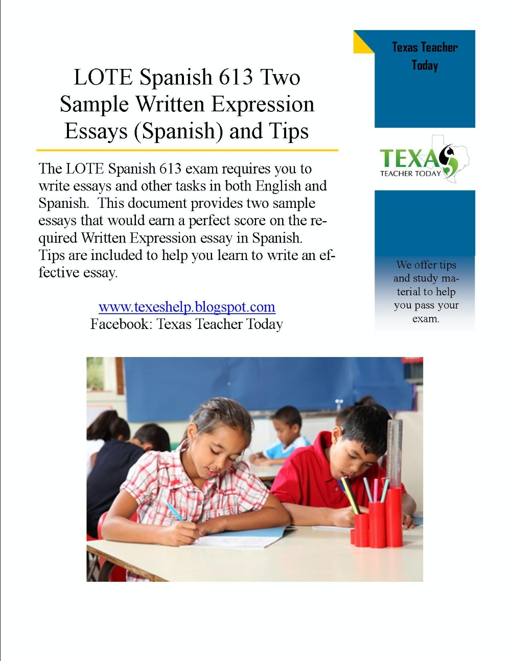 Tips for writing essays in spanish