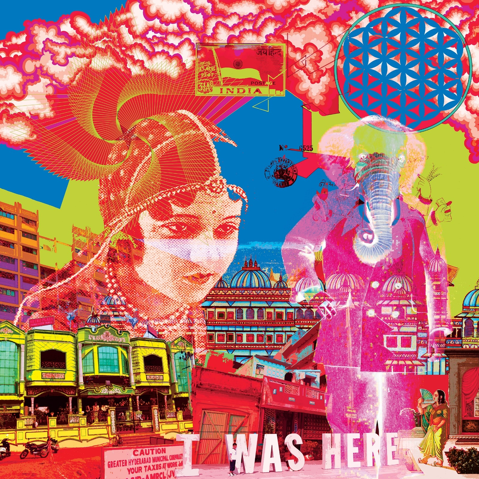 'India - I was here'