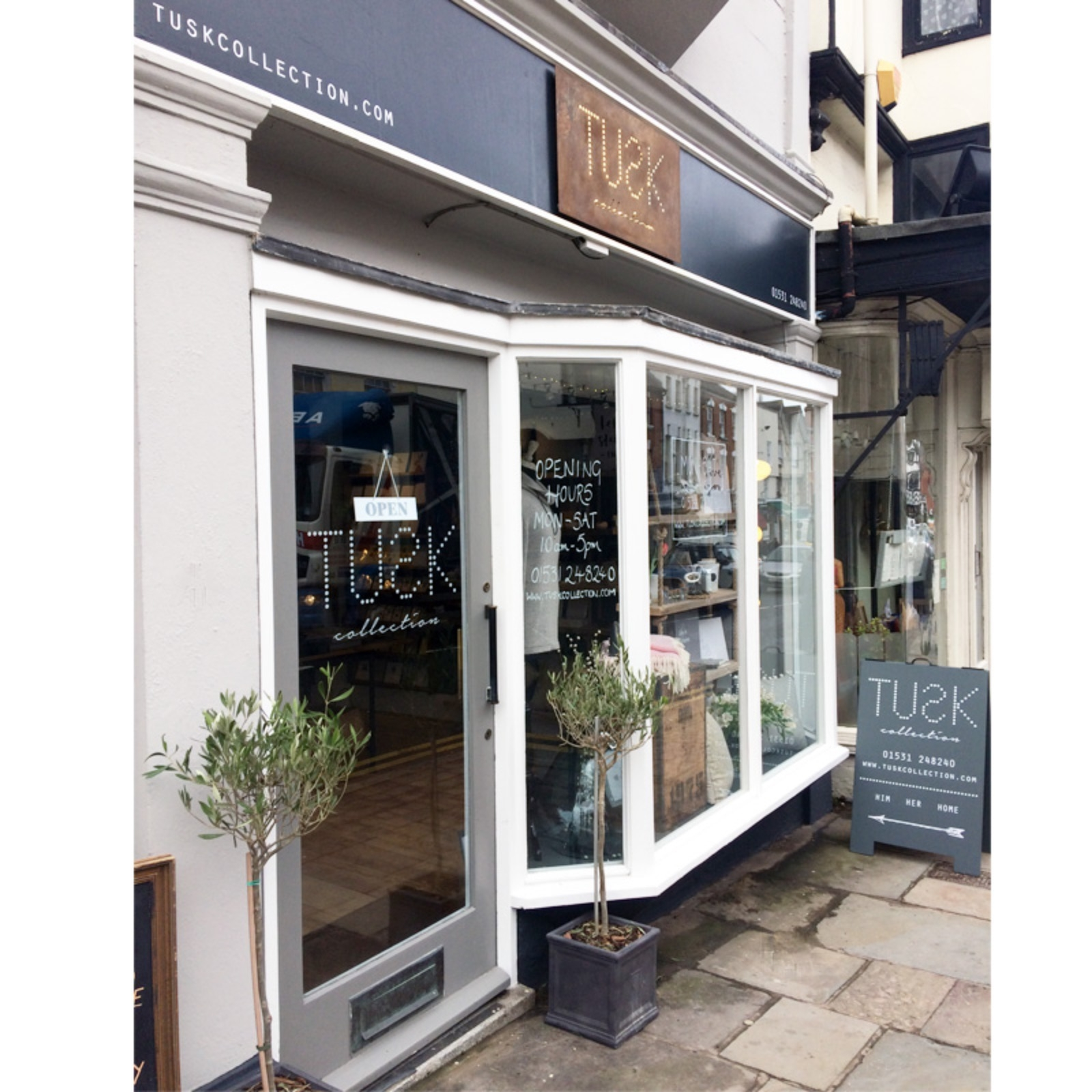 TUSK collection shop Ledbury