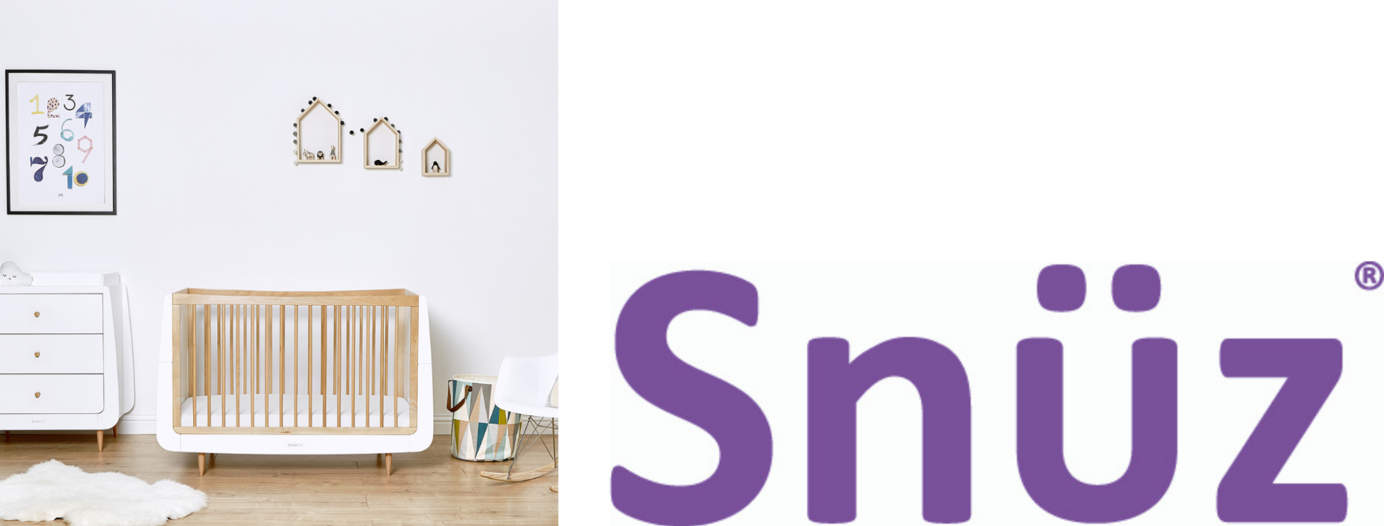 Snuz, baby nursery furniture, cots, next to you cribs