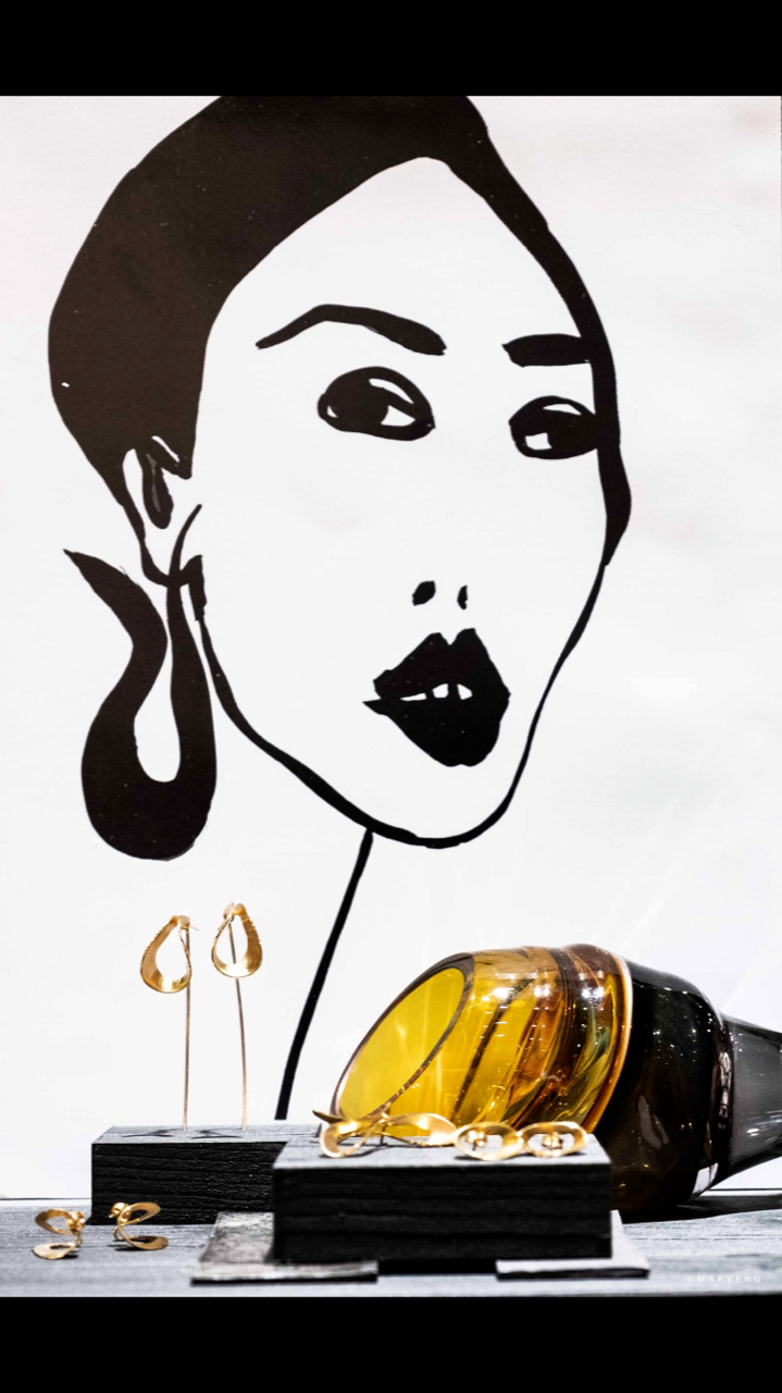 eo Ipso jewellery collection with art piece by Pia henriksen