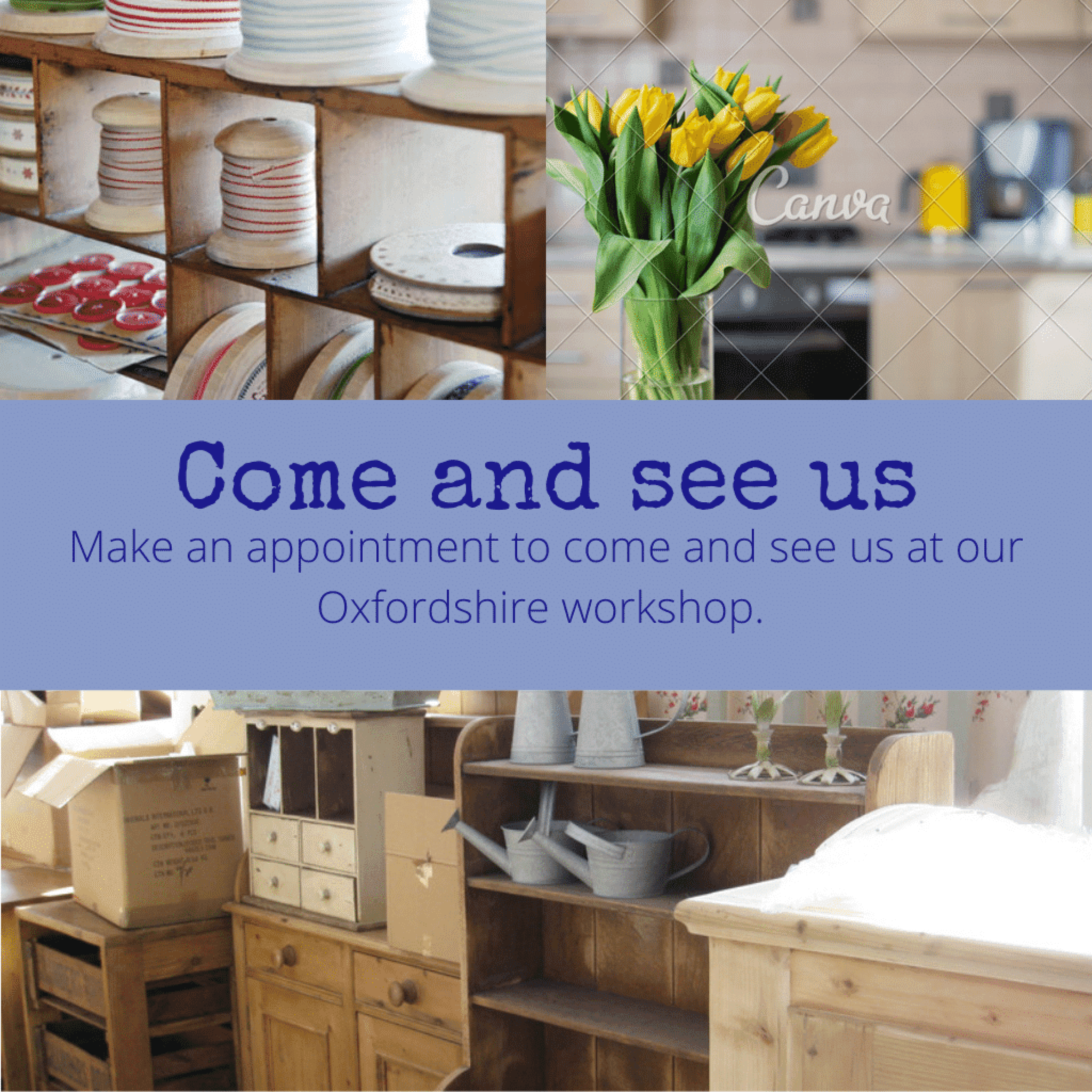 Come and see us at out workshop