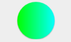 gradient circular button