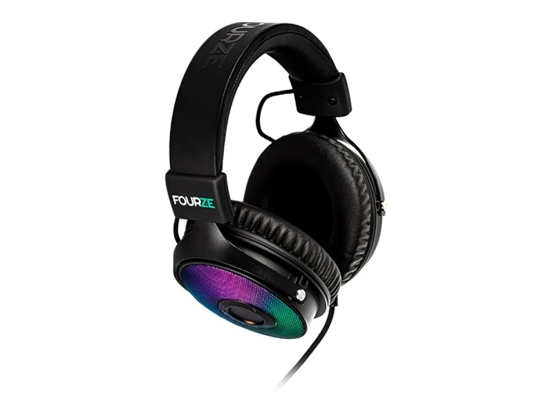 Fourze GH350 Gaming Headset USB RGB 7.1 Surround -pelikuulokkeet RGB valoilla