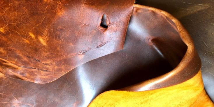 Wallets made from sustainable leather by Badger House Leather in Frome, Somerset