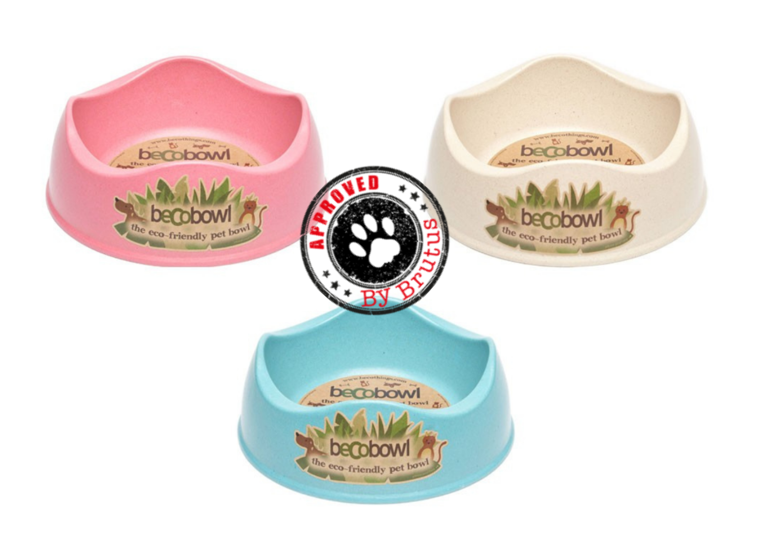 Eco friendly dog and puppy bowls for food and water, including collapsible travel bowls