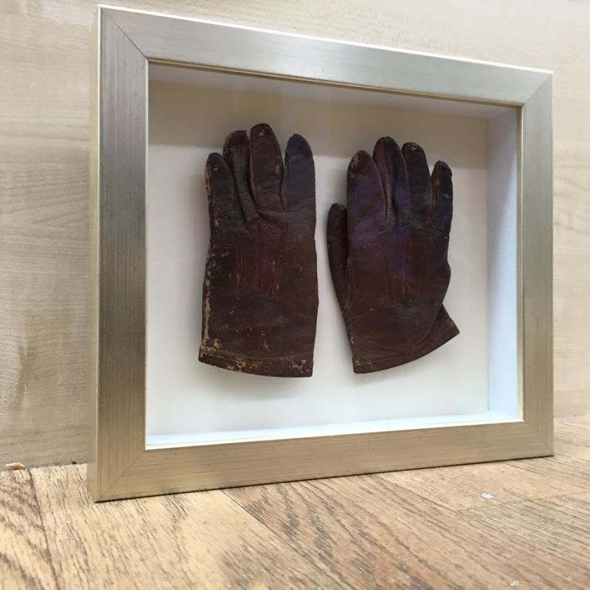 framed glove
