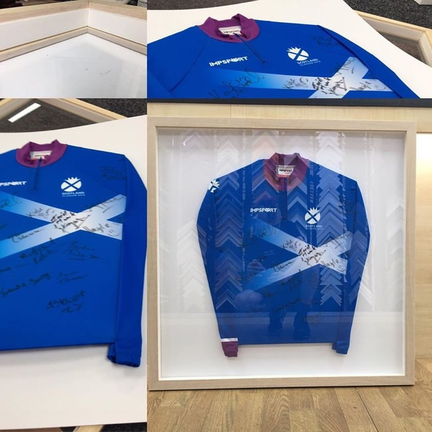 cycle shirt framing edinburgh