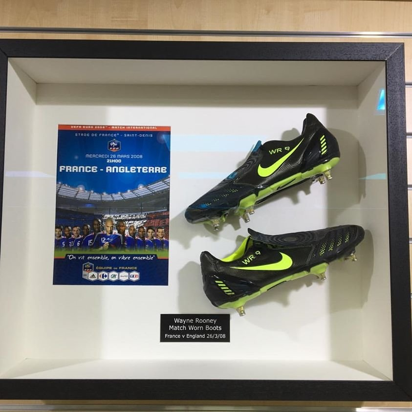 framed football boots