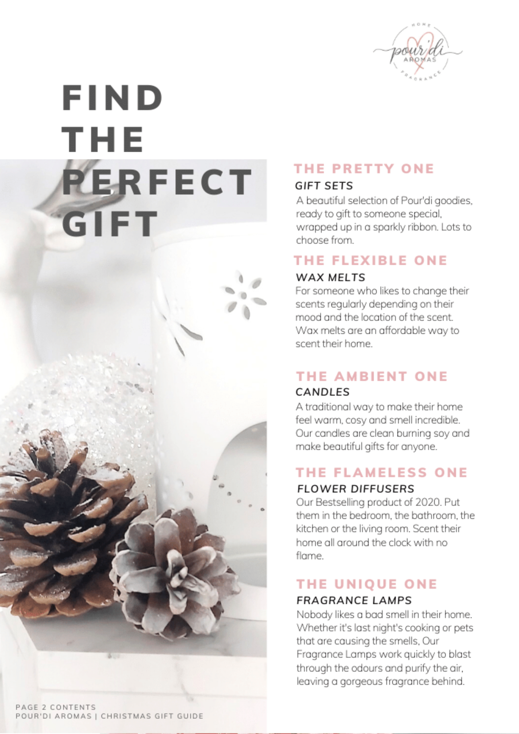 Find the perfect gift. Home Fragrance.