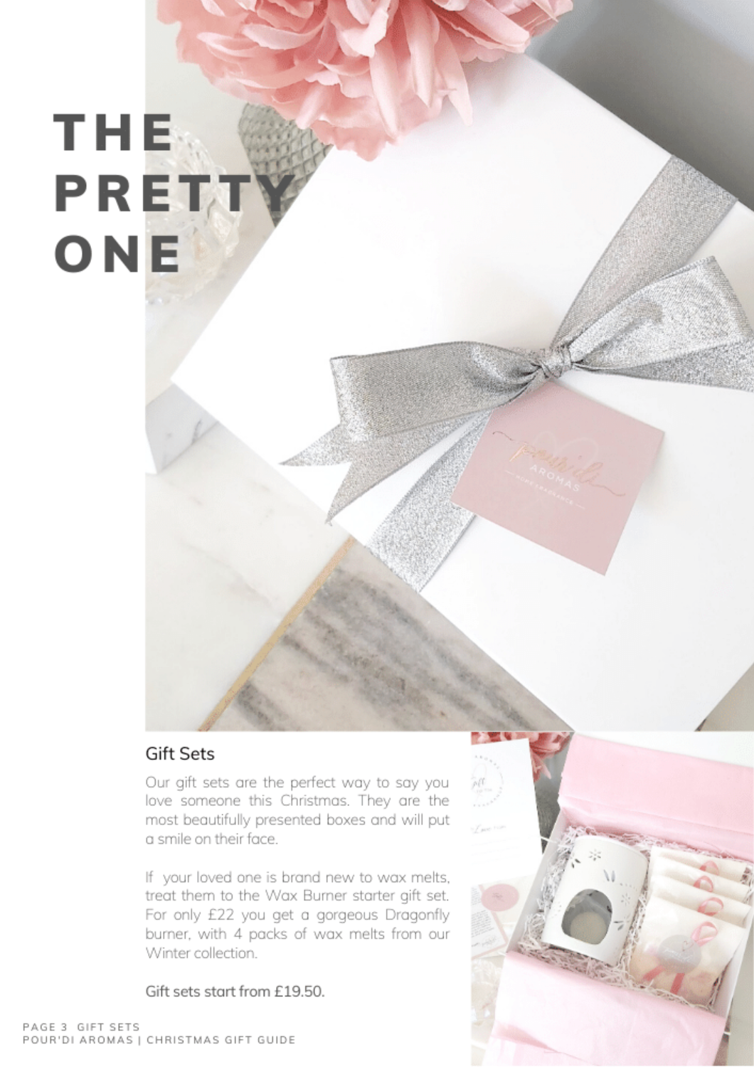 The Pretty One. Gift Sets.