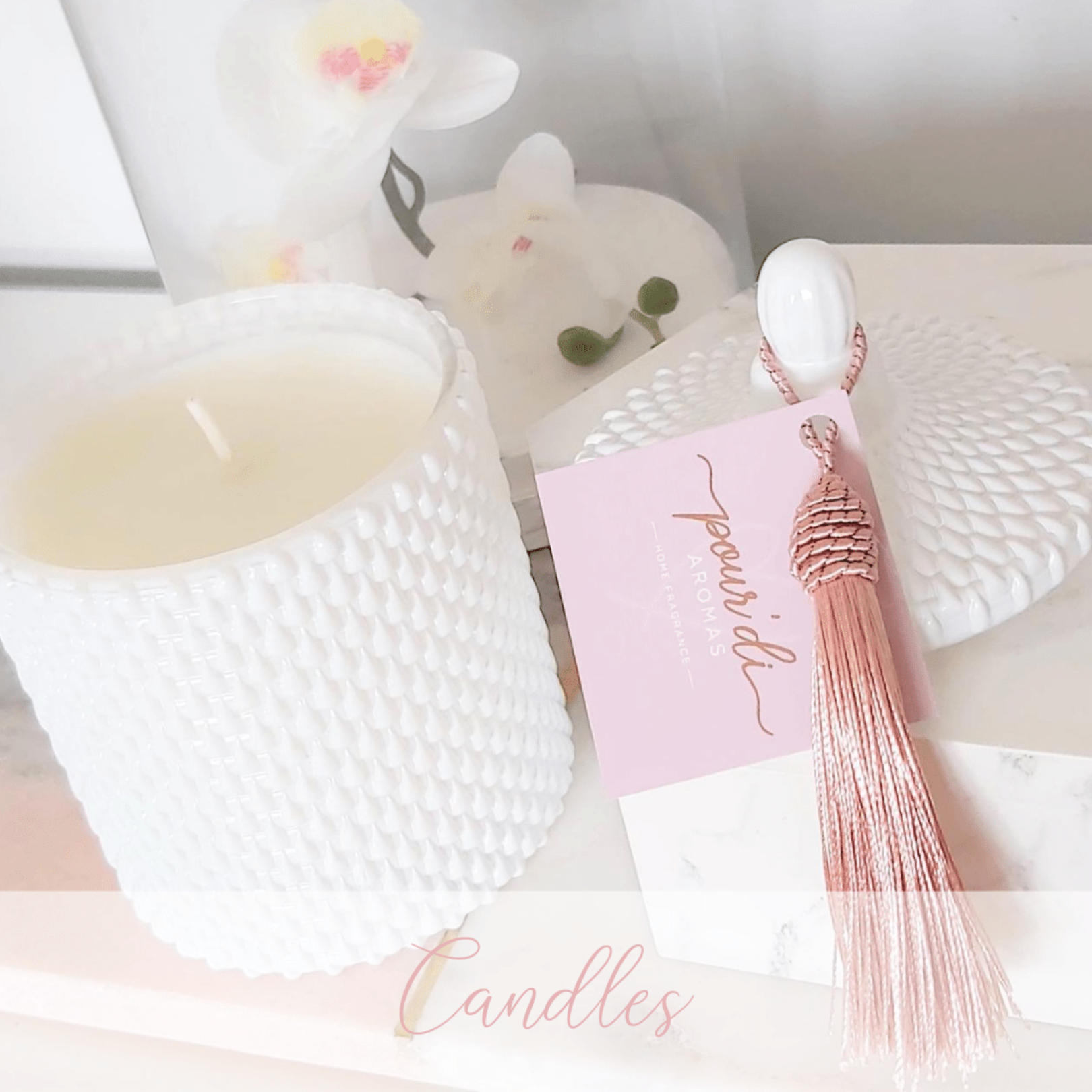 Boutique, Luxe Candles. Unique Candle Gifts.