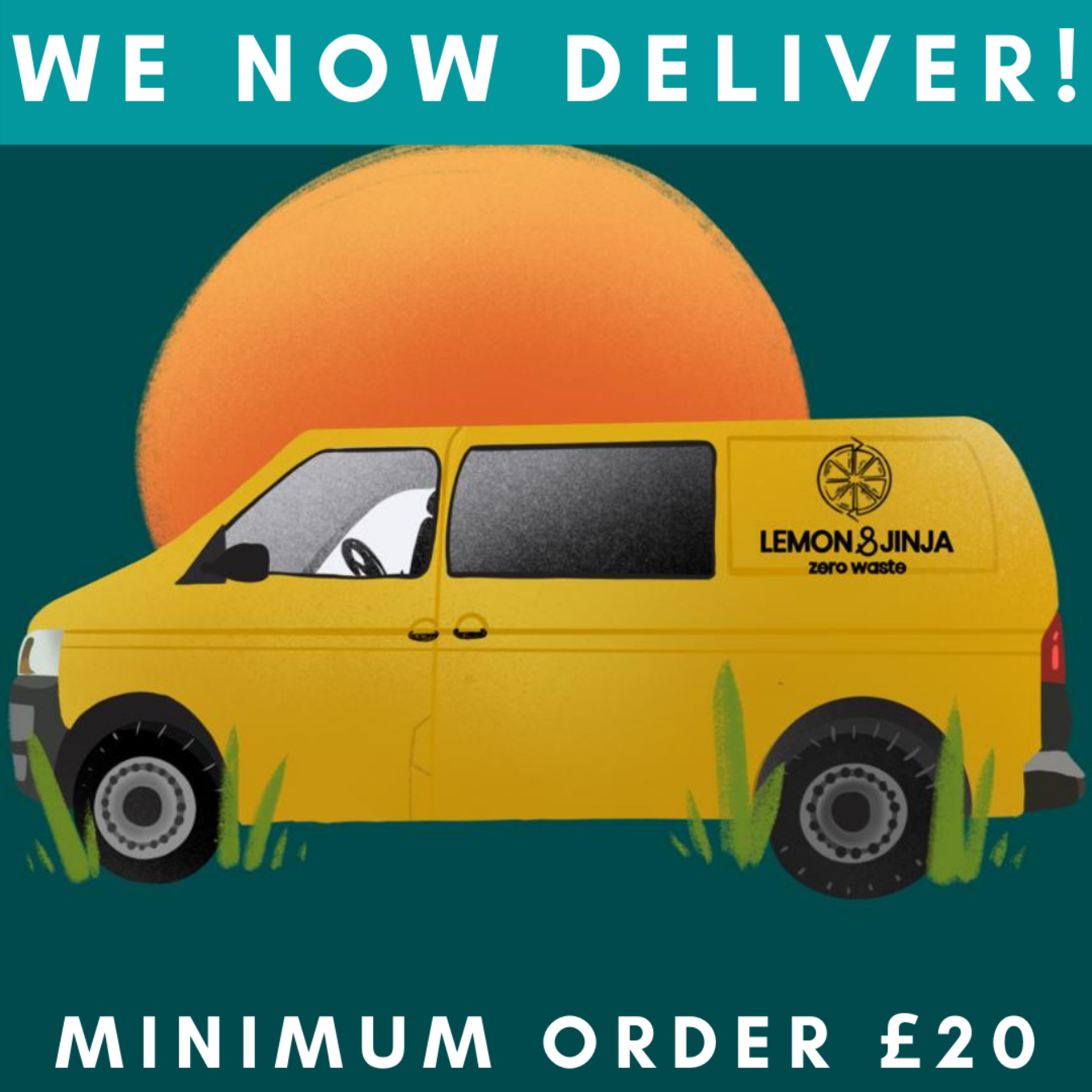 We now deliver!