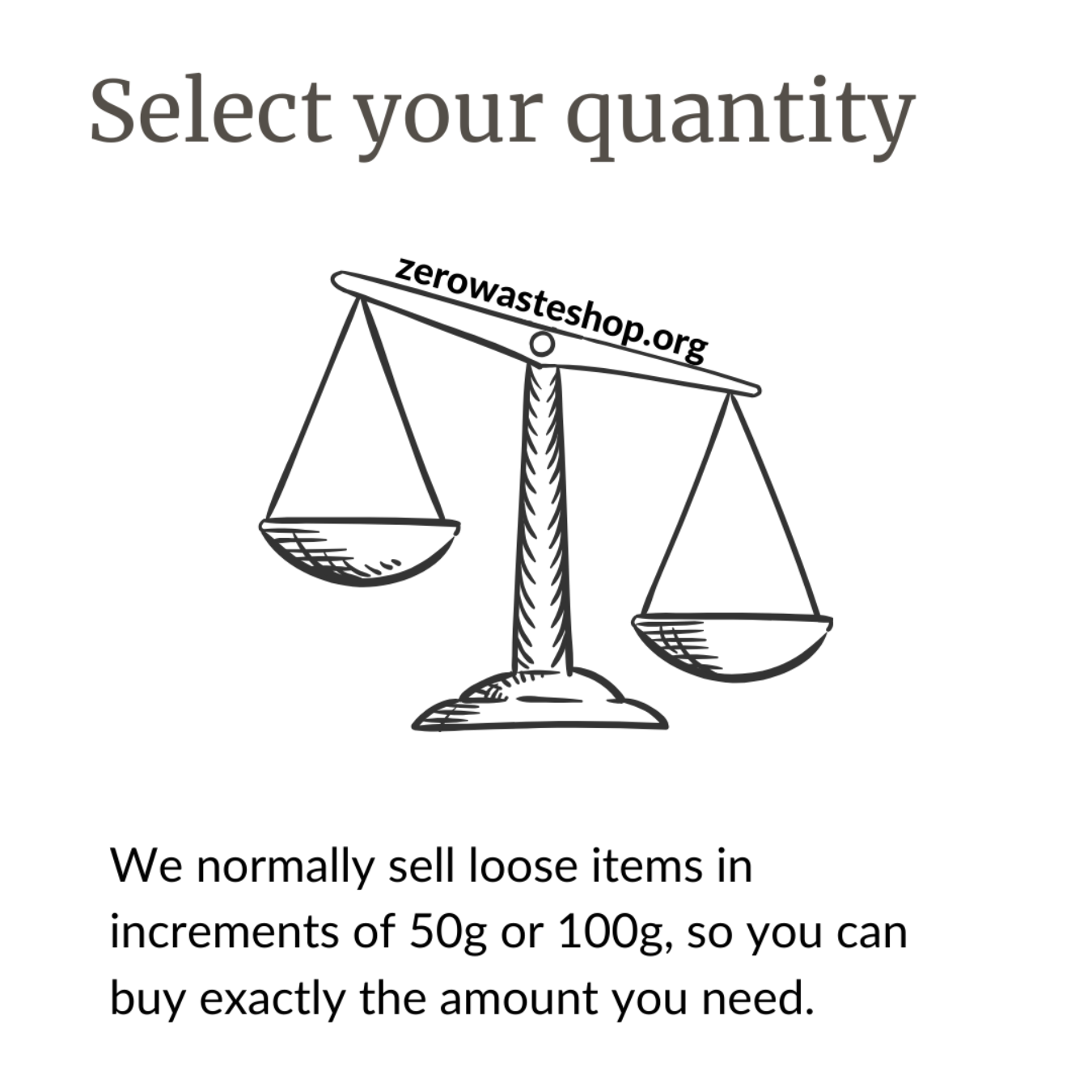 Select your quantity