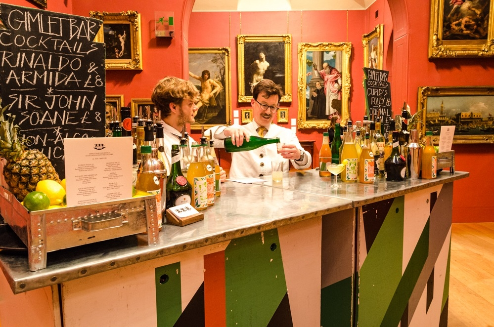Gimlet Bar at Dulwich Picture Gallery