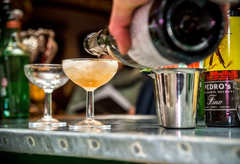 Cocktails for Museum of London