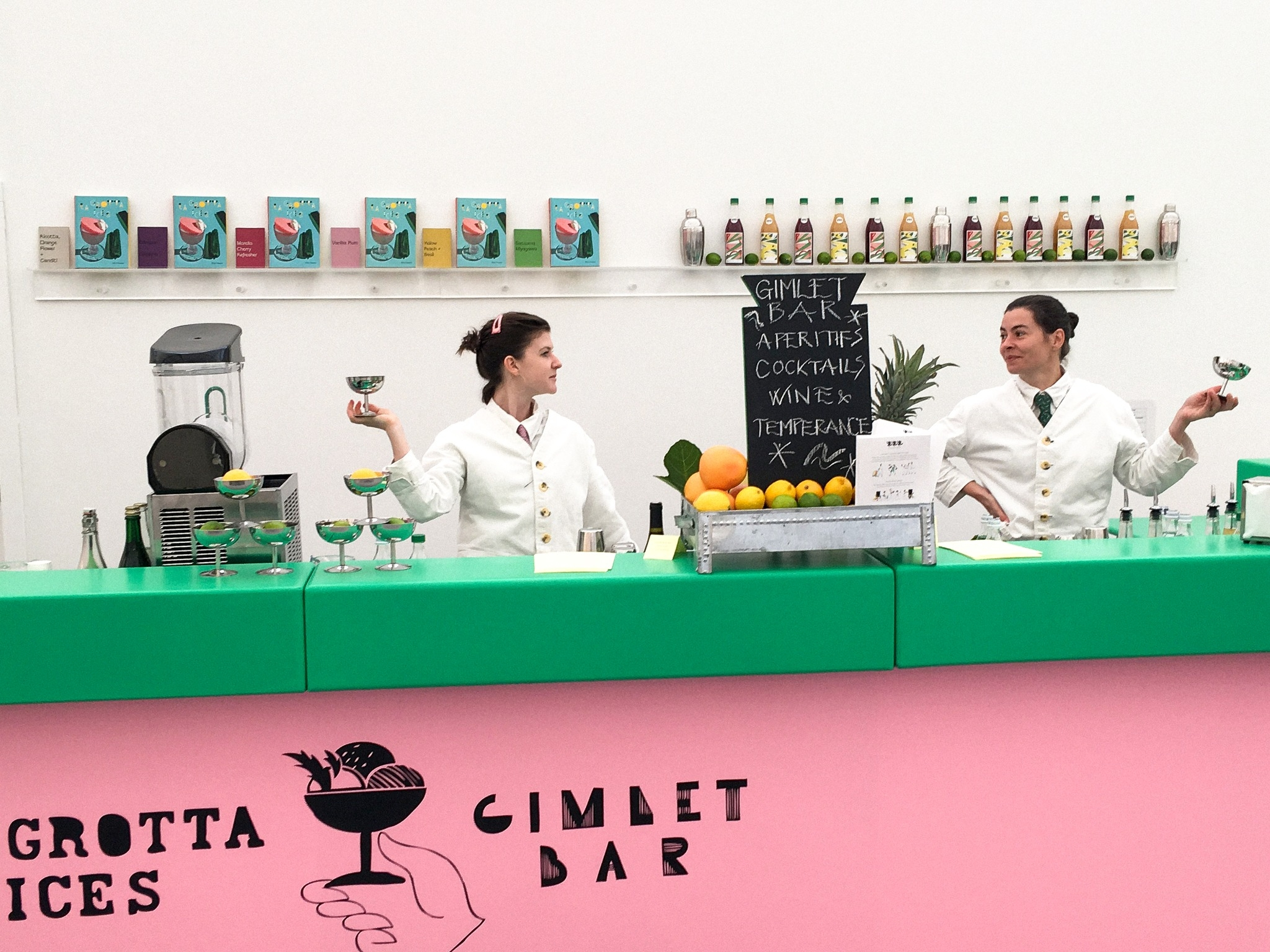 A very special cocktail bar for Frieze Art Fair