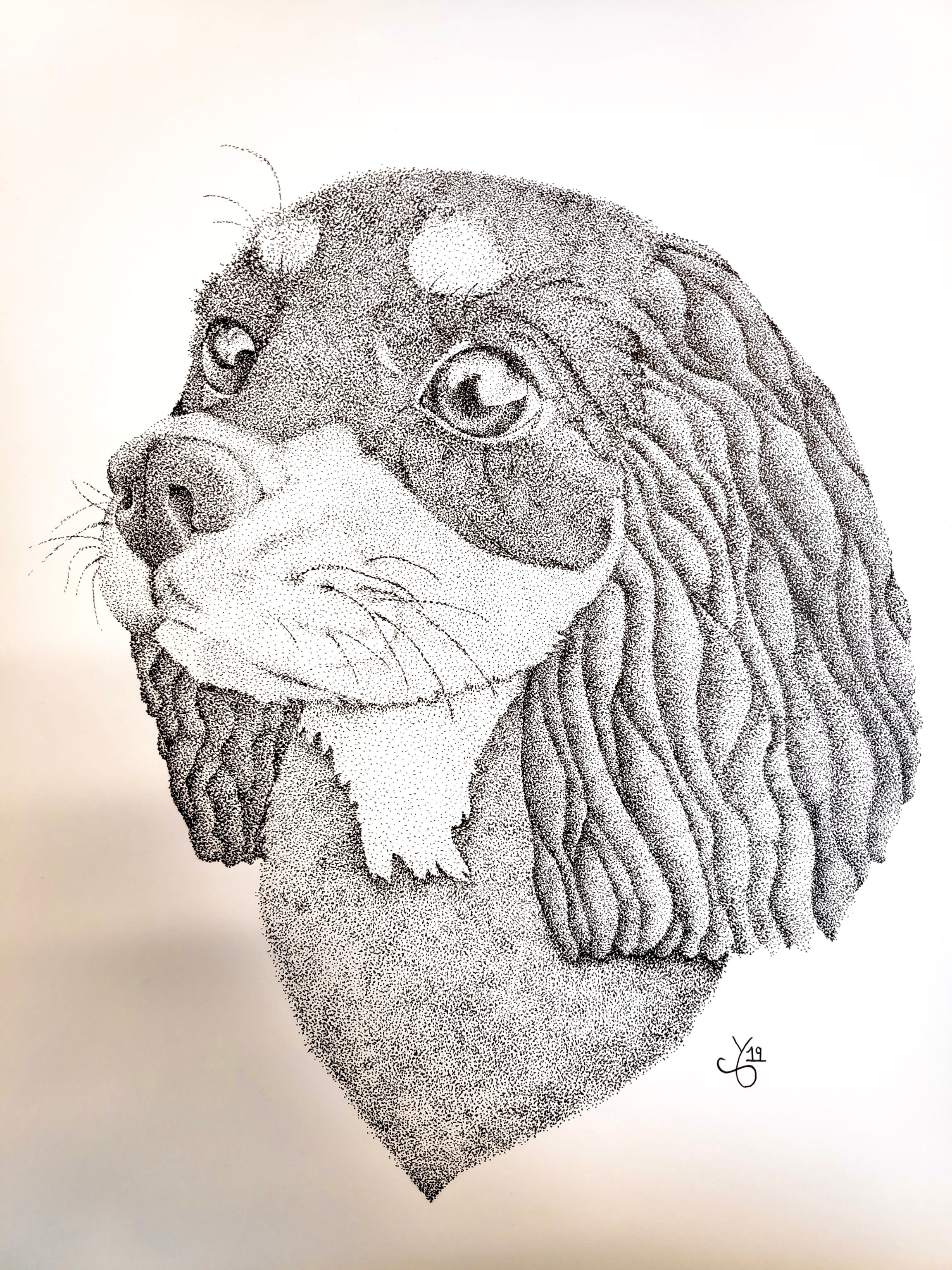 Pointillism Puppy