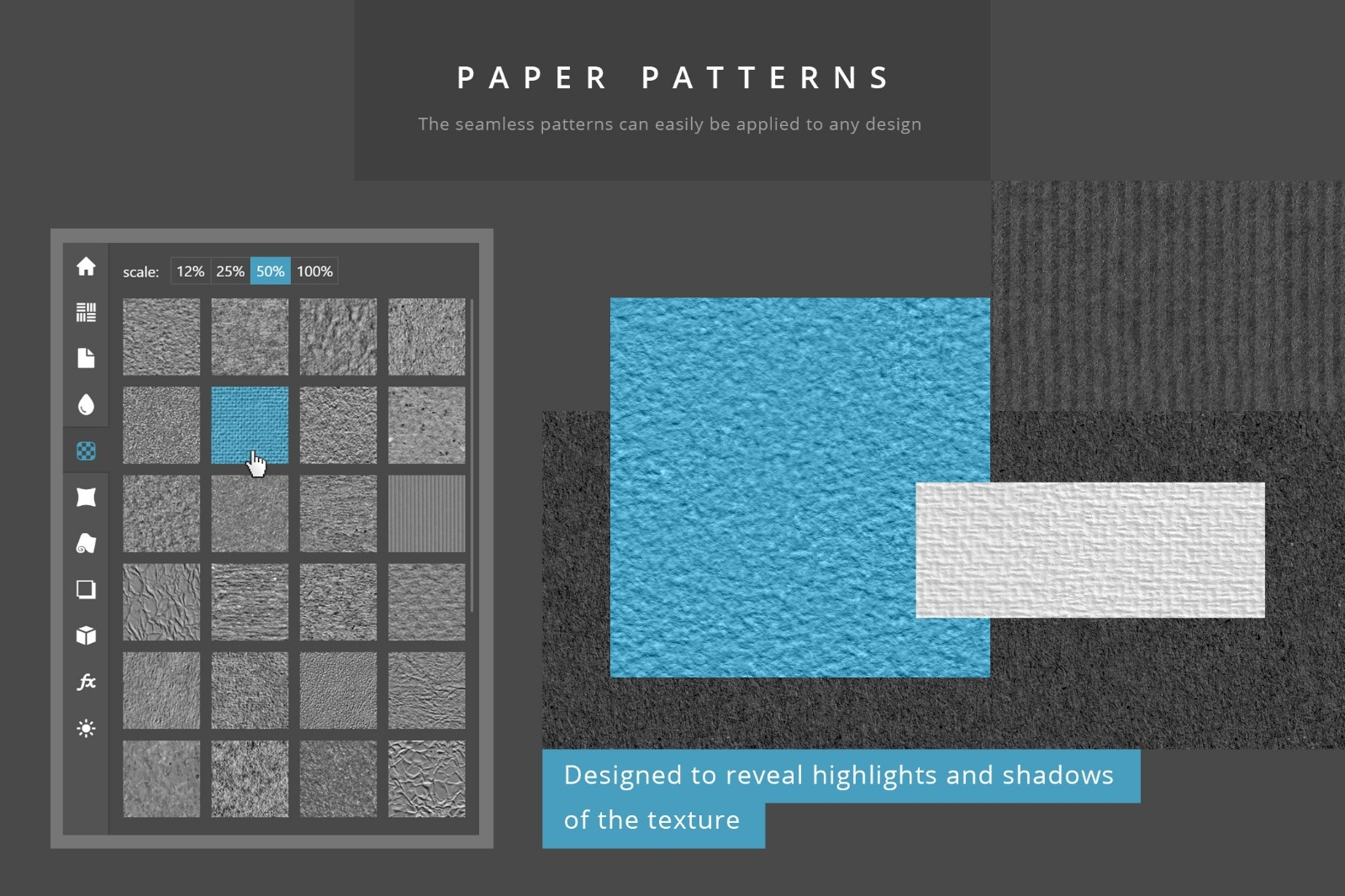 Paper Panel - Seamless Paper Patterns