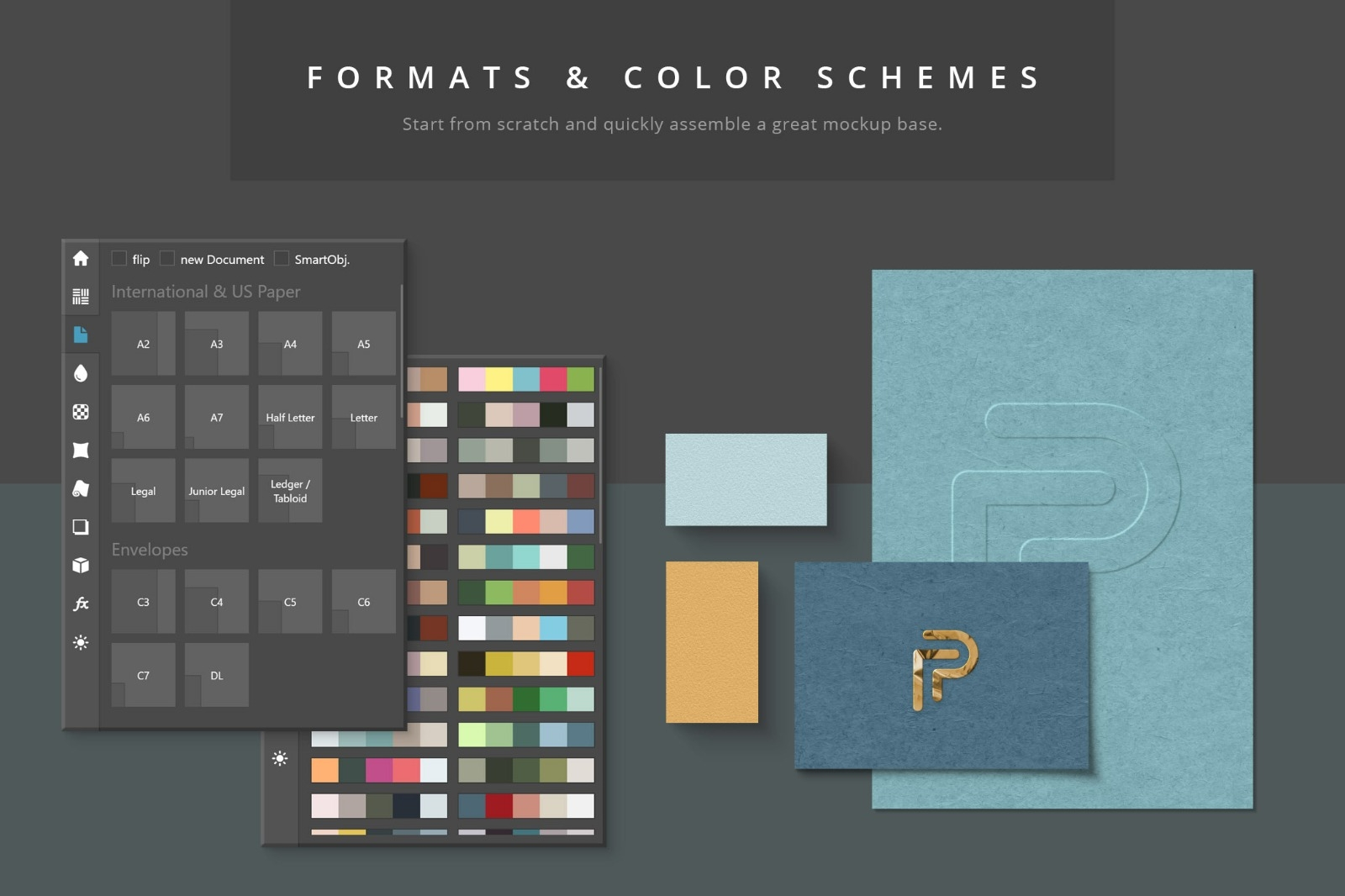 Paper Panel - Formats and Colors