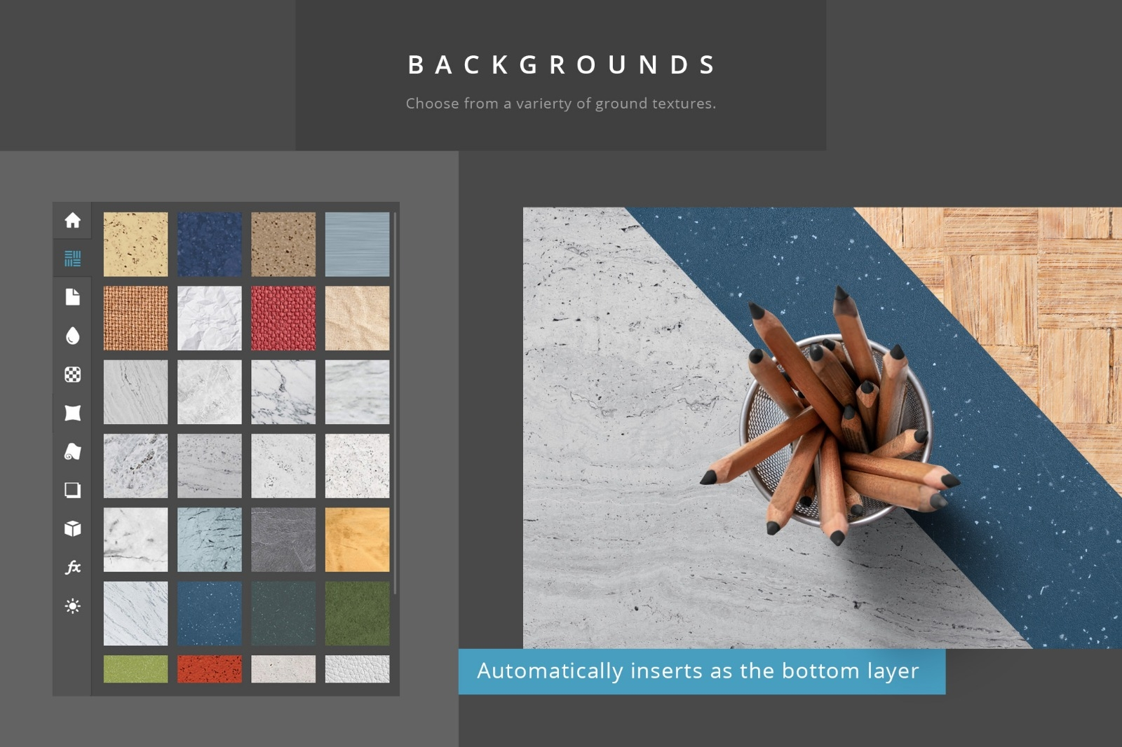 Paper Panel - Backgrounds