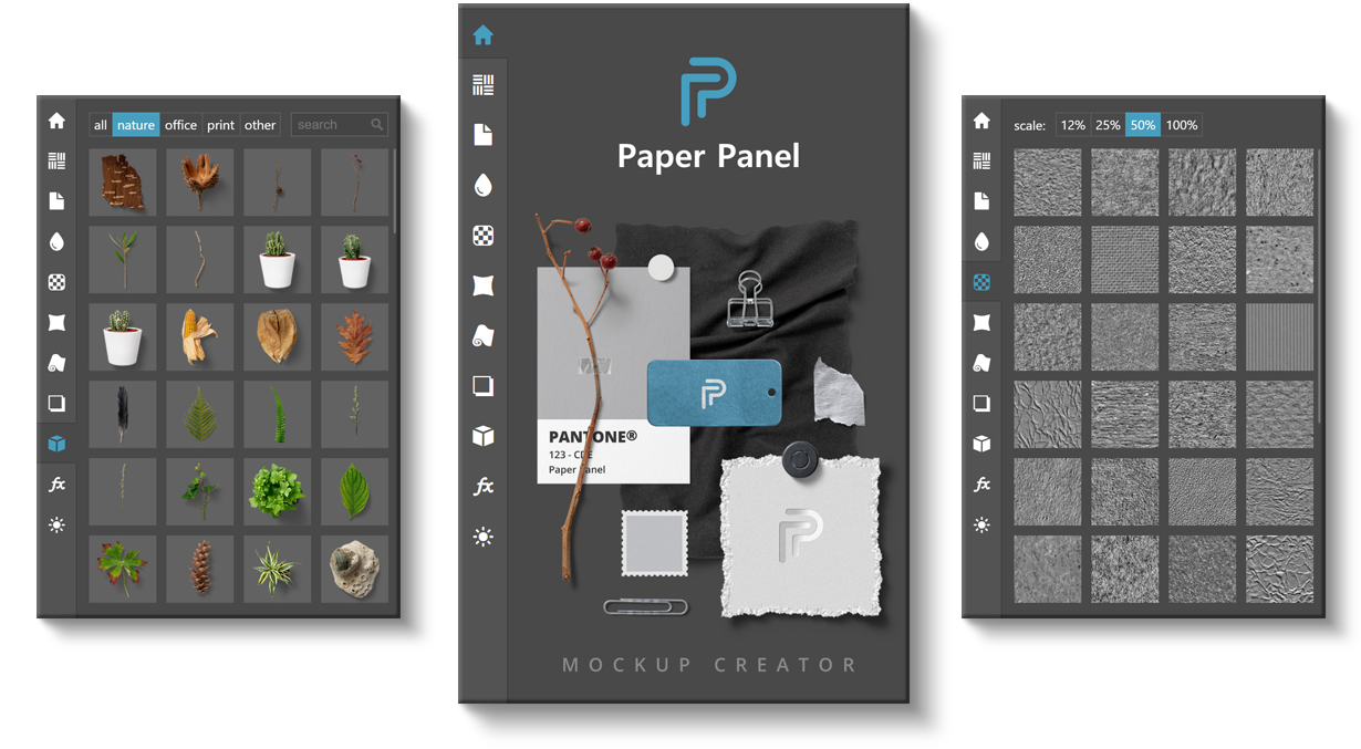 Paper Panel - Interface Overview