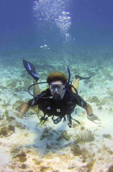 learn to scuba dive in Burnley