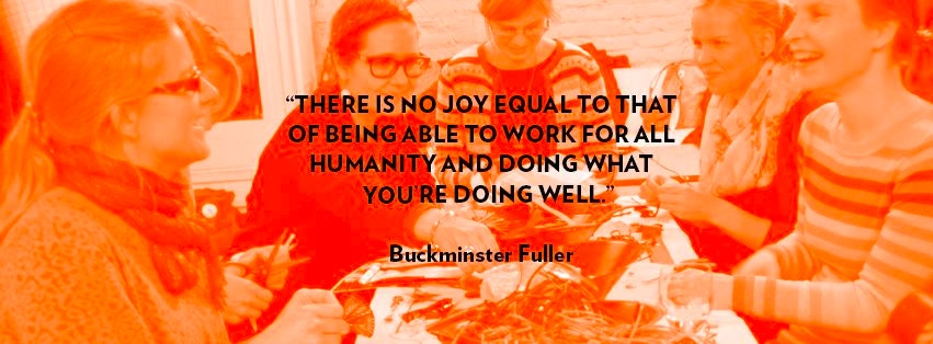 Work for all Humanity - Buckminster Fuller