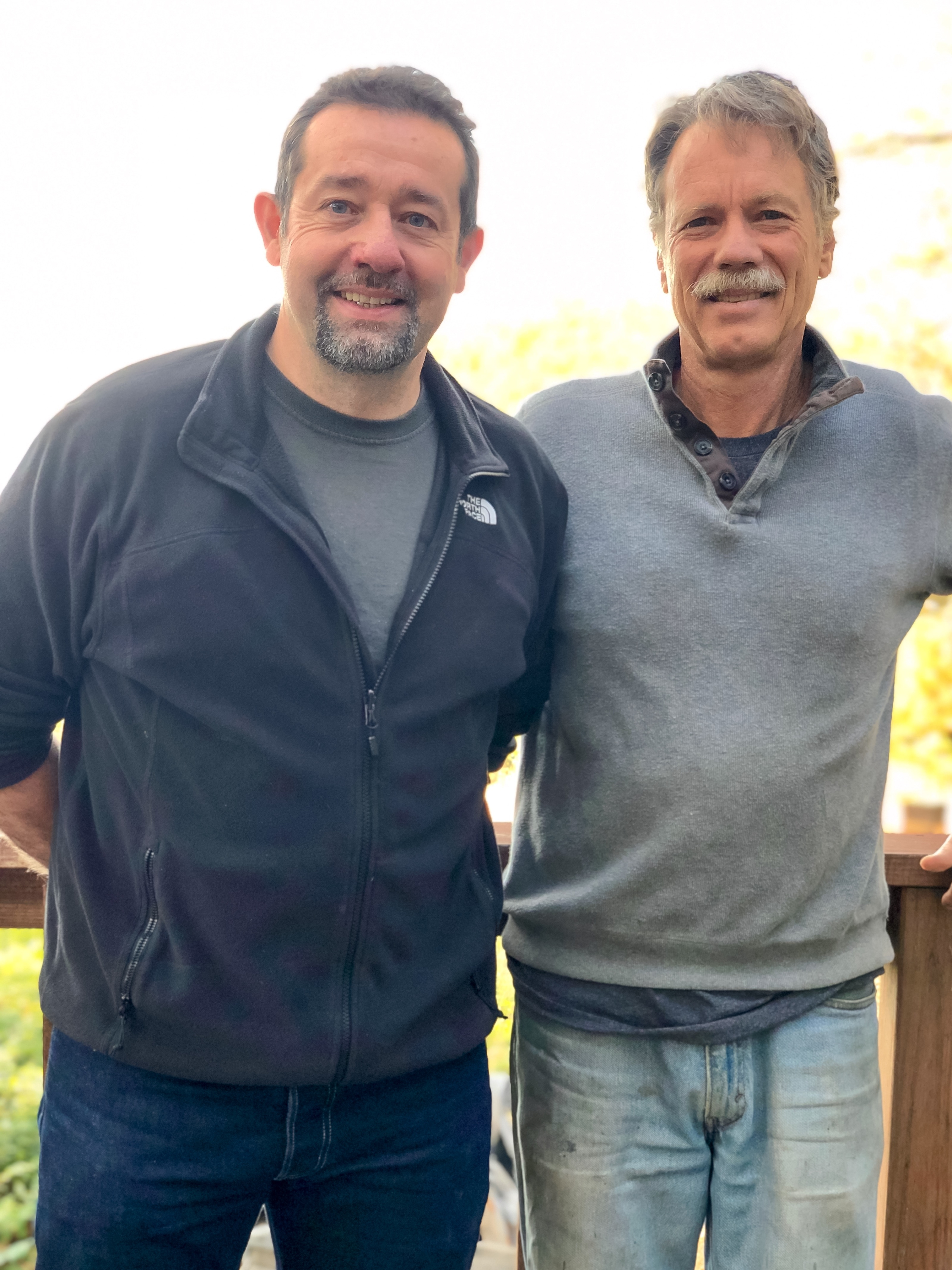 Steve with Randy Oliver