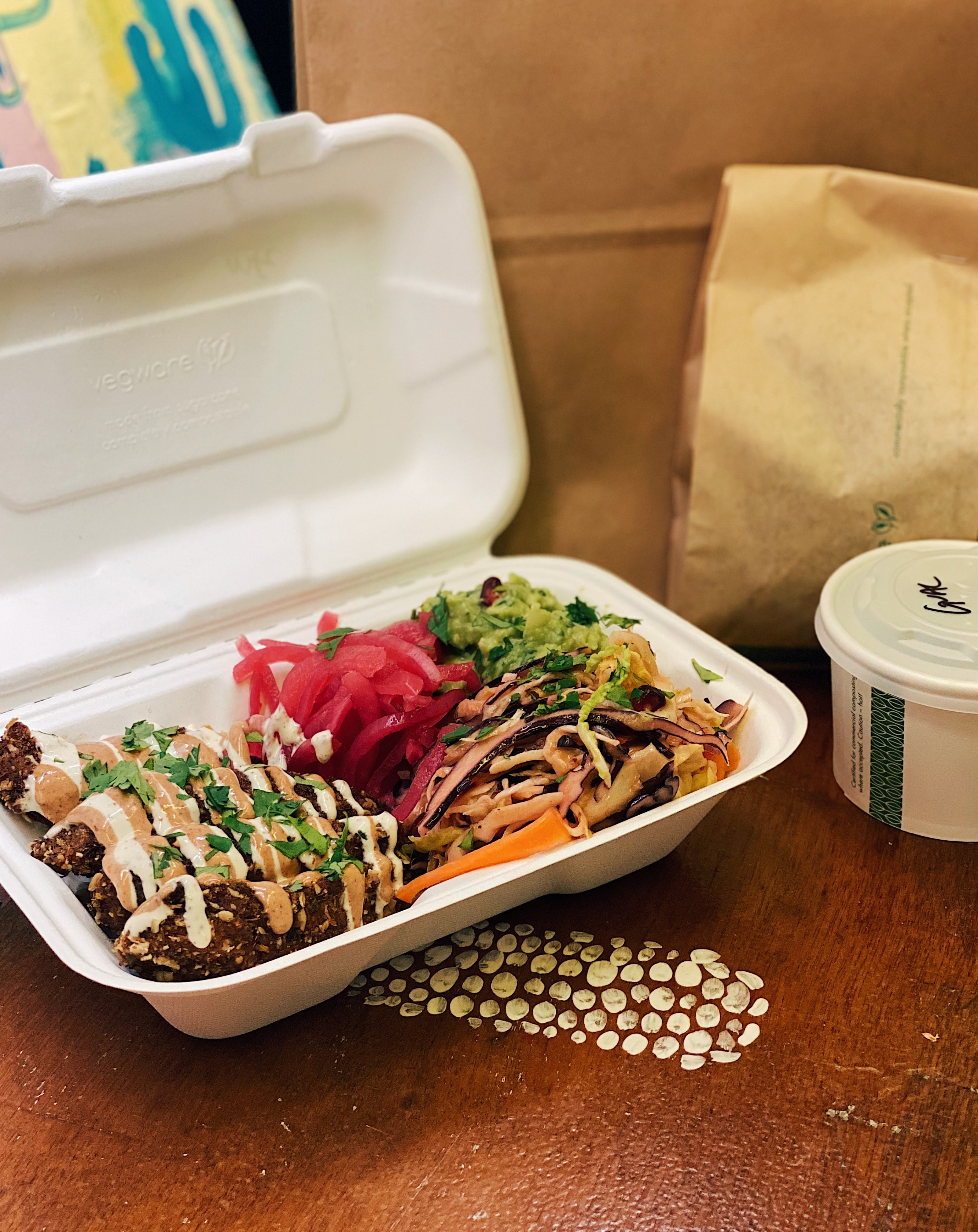 Mexican Fried Chicken Bowl