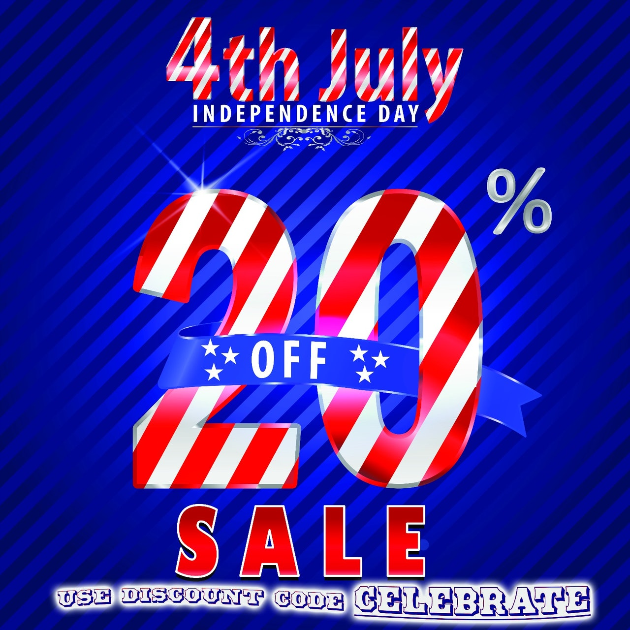 4th of July Flash SALE!