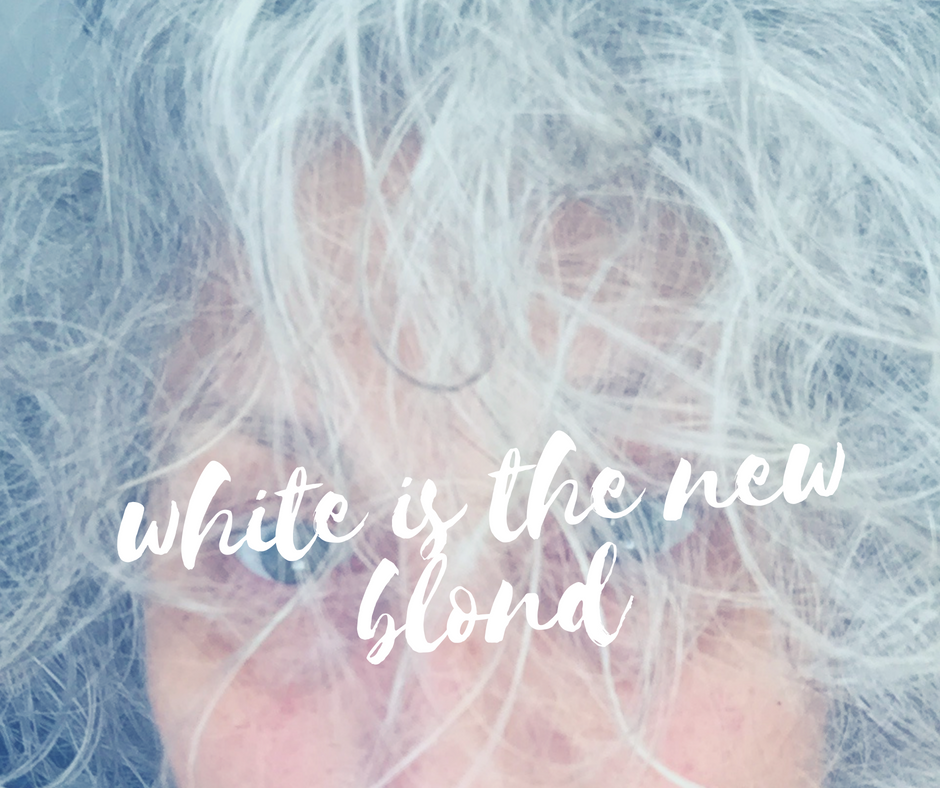 WHITE is the new BLOND