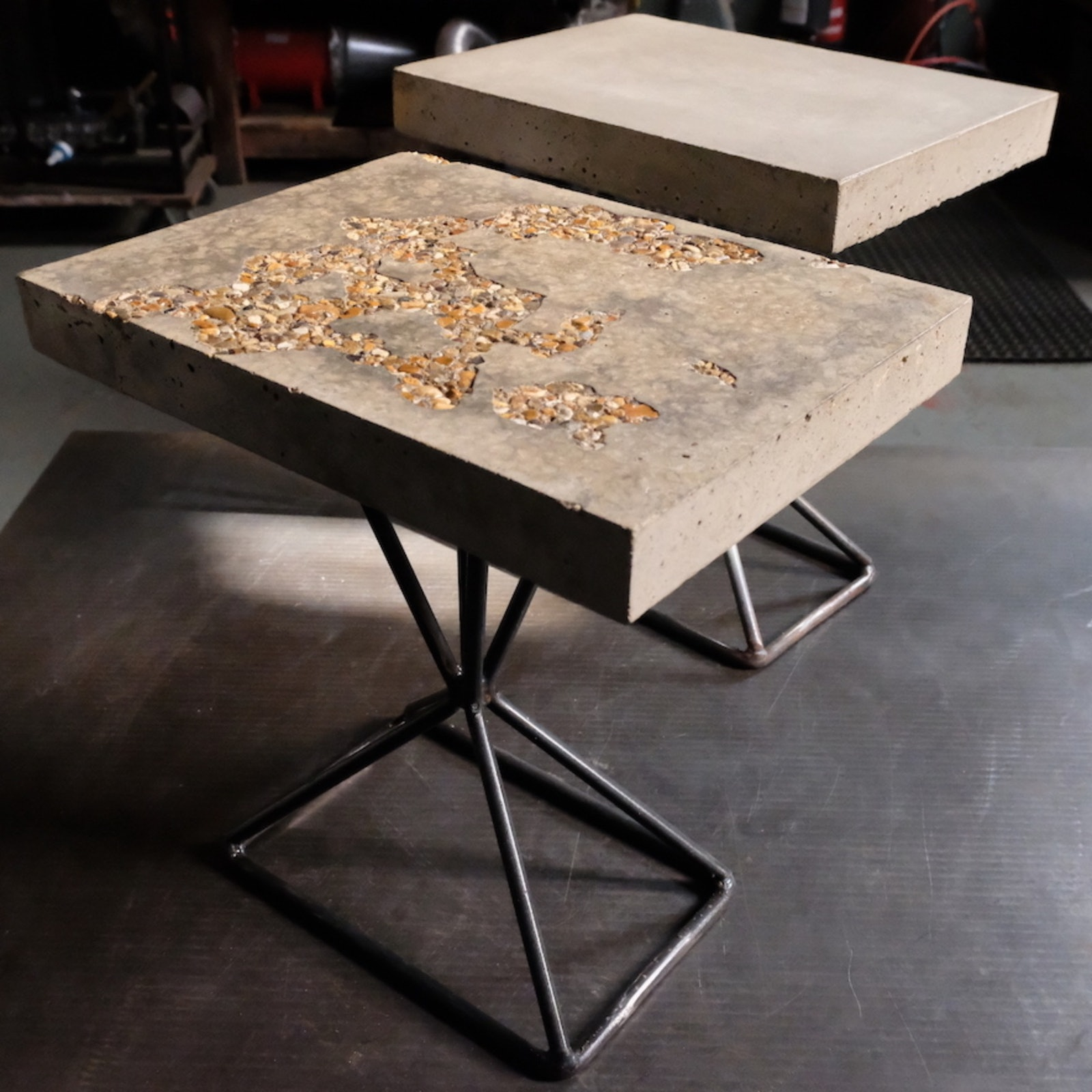 Dungeness Concrete Side Table: where it all began