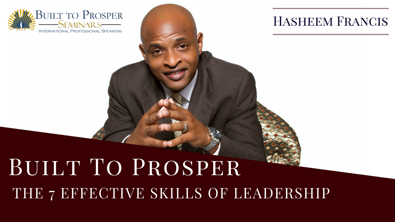 ***Video*** The 7 Effective Skills of Leadership