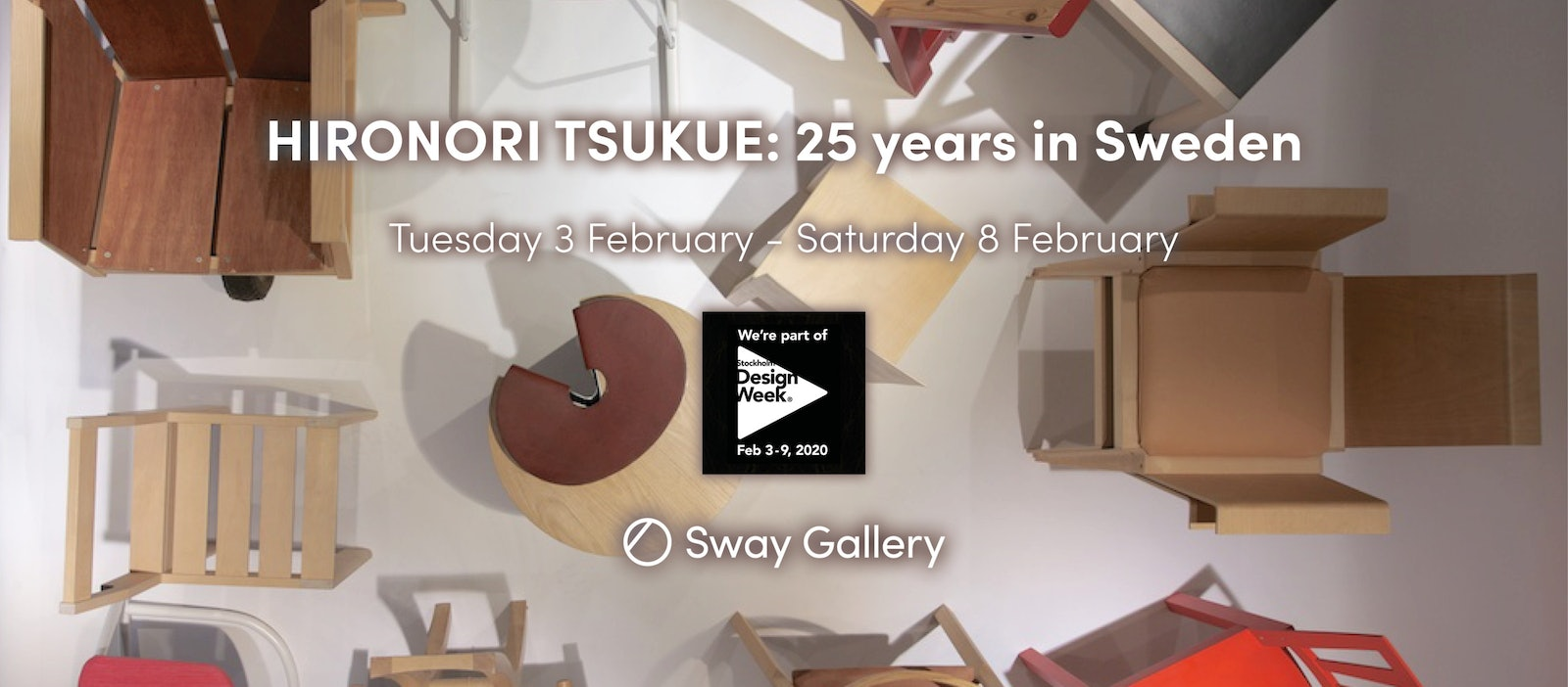 HIRONORI TSUKUE: 25 YEARS IN SWEDEN // 3 - 8 February 2020