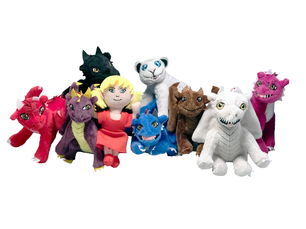 Dragonlings Plush Ornaments small