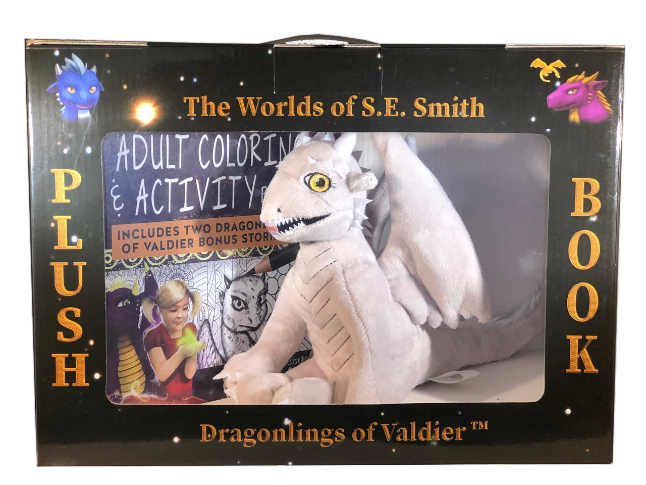 Large Plush Dragonling Box Set