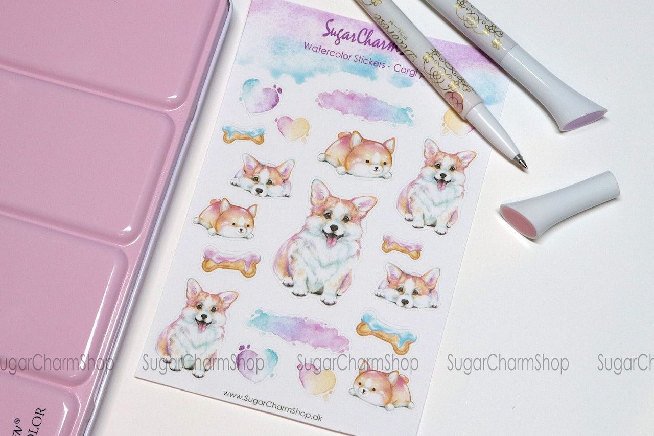 Sticker sheets (Standard size)