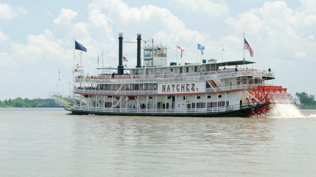 New Orleans riverboat steamboat