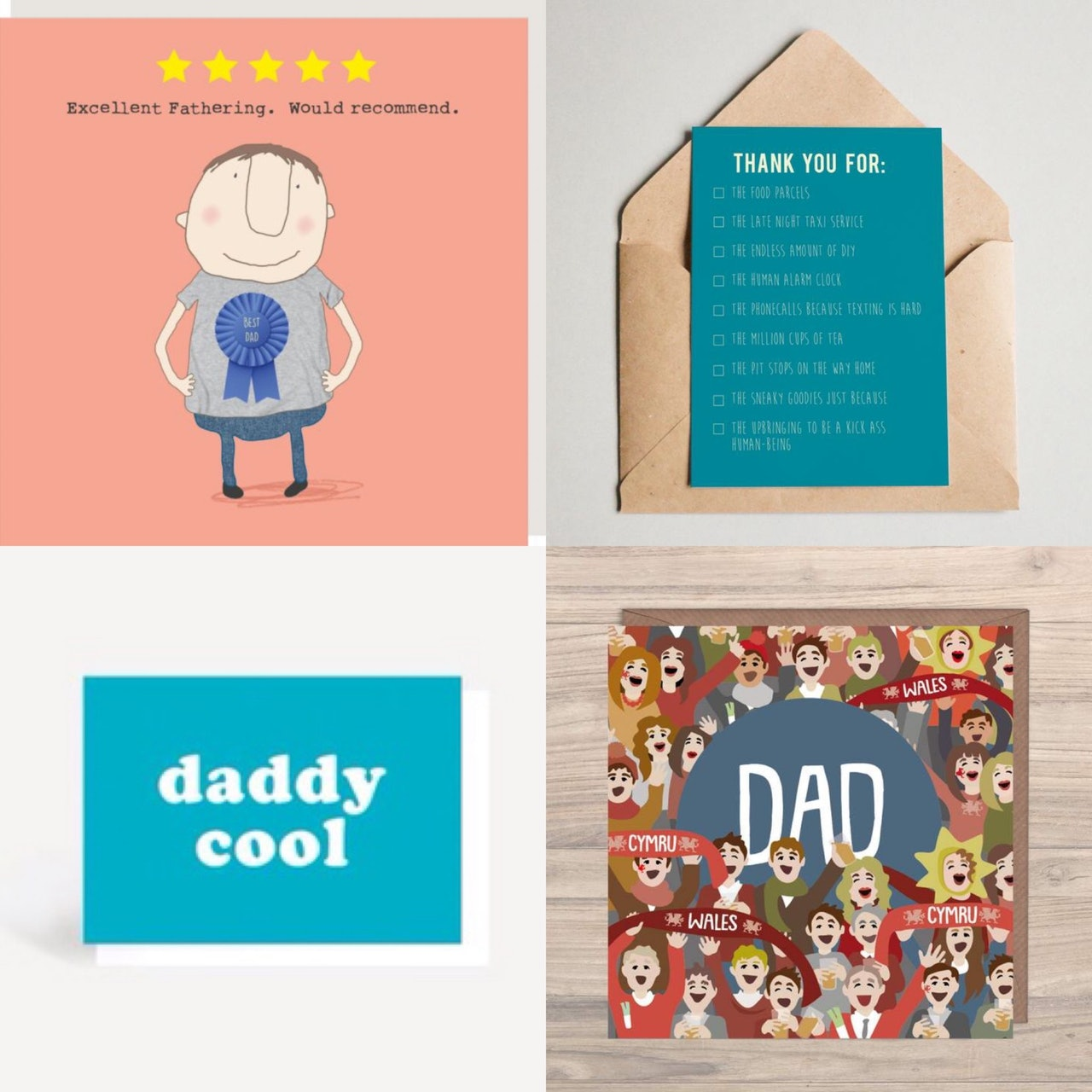 Father's Day Cards & Gifts - 21st June 2020