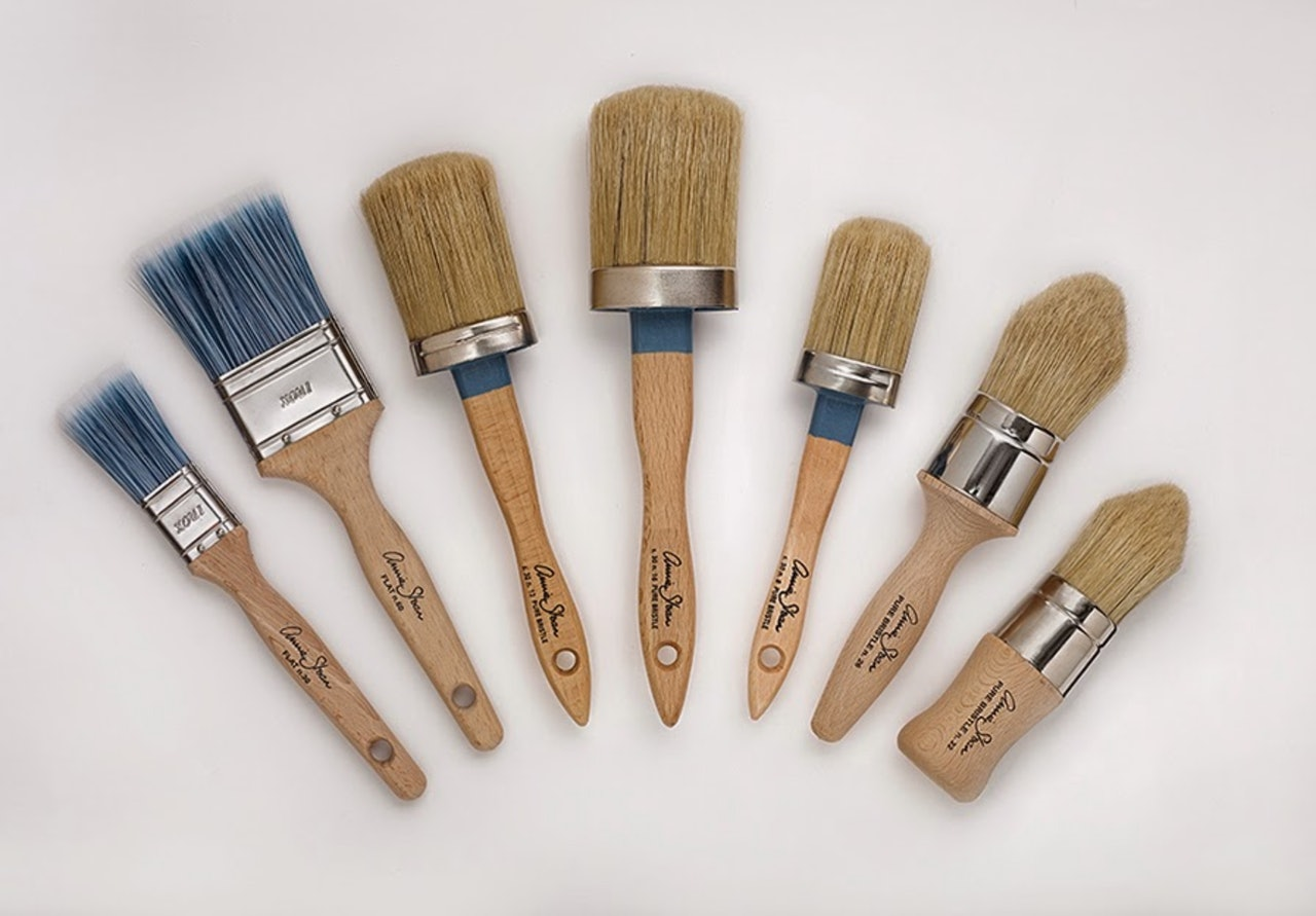 Annie Sloan Chalk Paint Brushes & Tools / Pensler & Utstyr