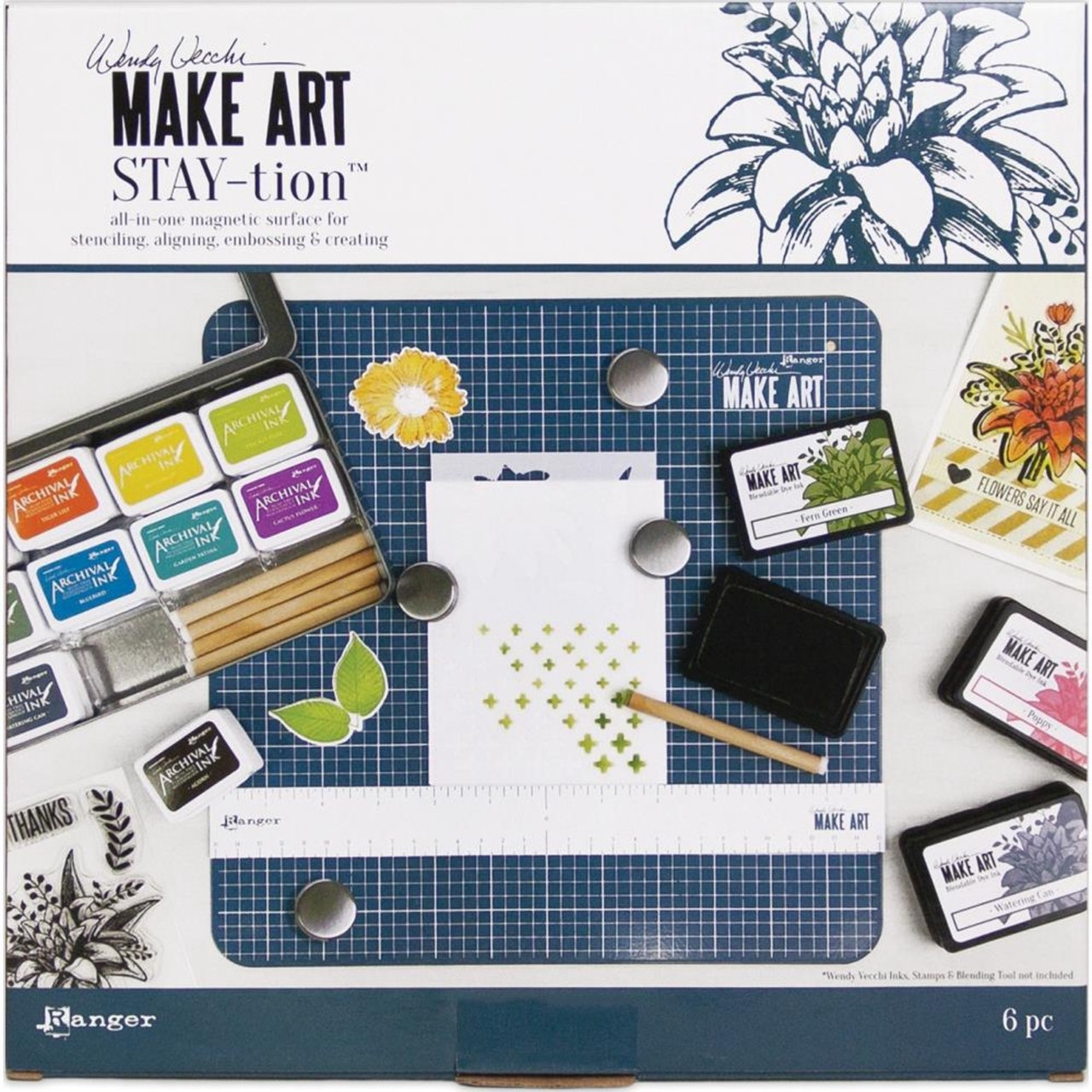 Wendy Vecchi Make Art Stay-tion (All in one Magnetic Surface)