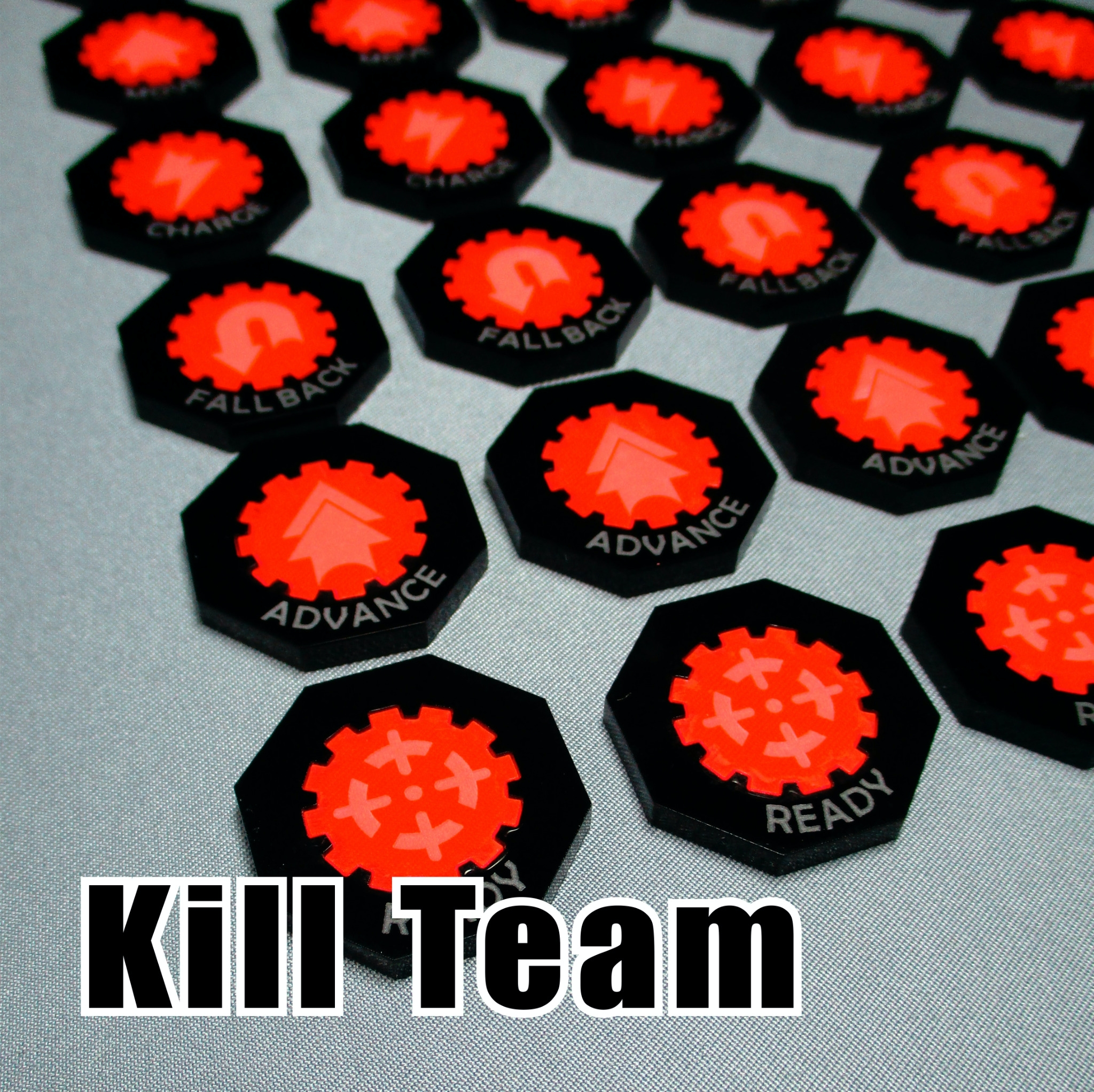 kill team measuring gauge and dice from starter set new