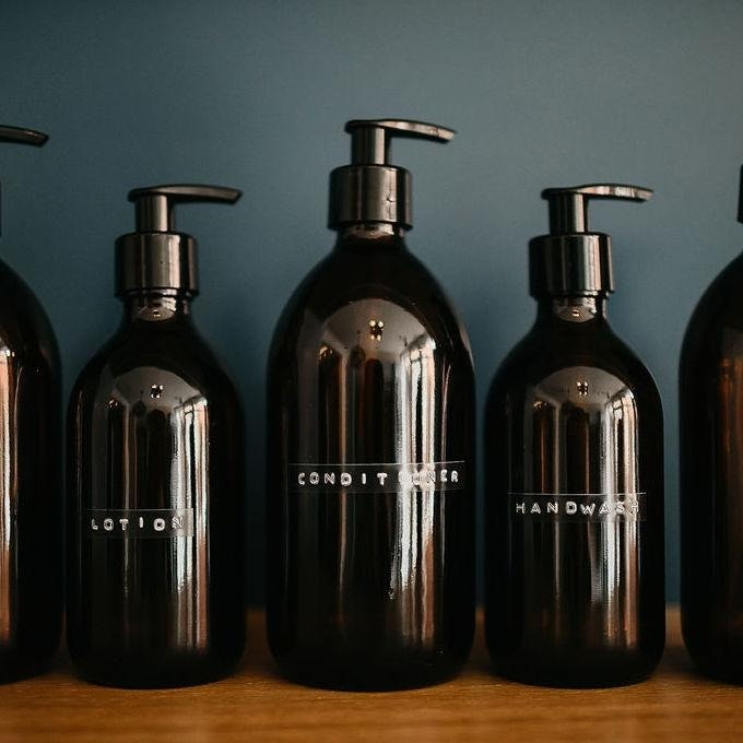 Refill bathroom products