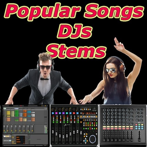 Popular Radio Songs/ Independent Stems For Live Gigs/DJs