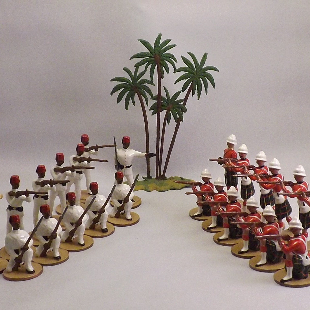 A Gentleman's War - Complete Unit  Troop Packs of Foot and Mounted Castings