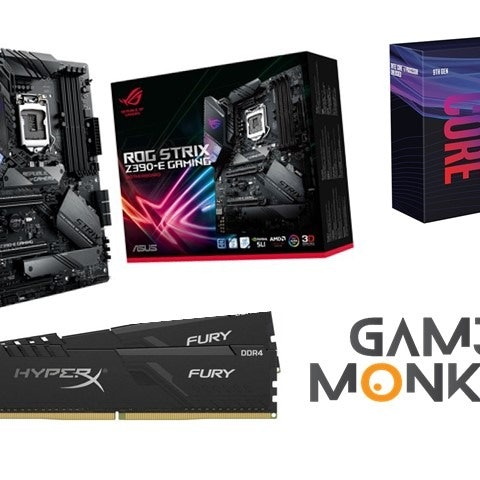 Gaming komponentit BUNDLE