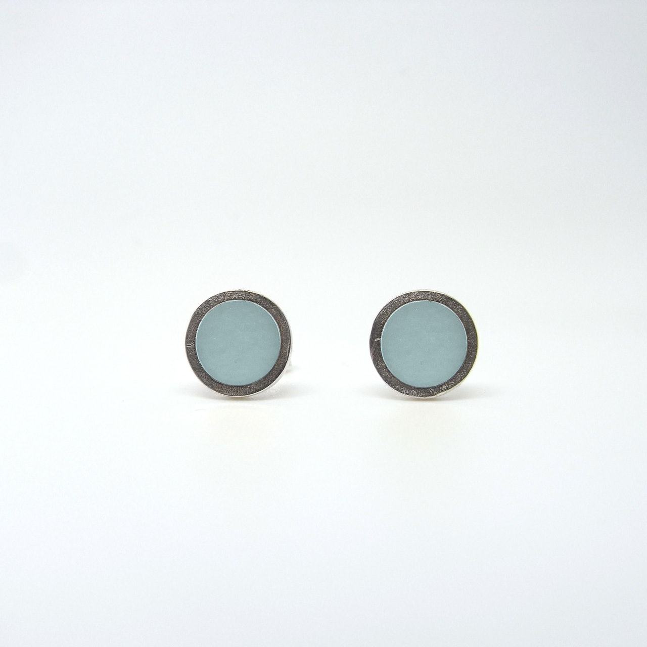 Small Coloured Dot Studs