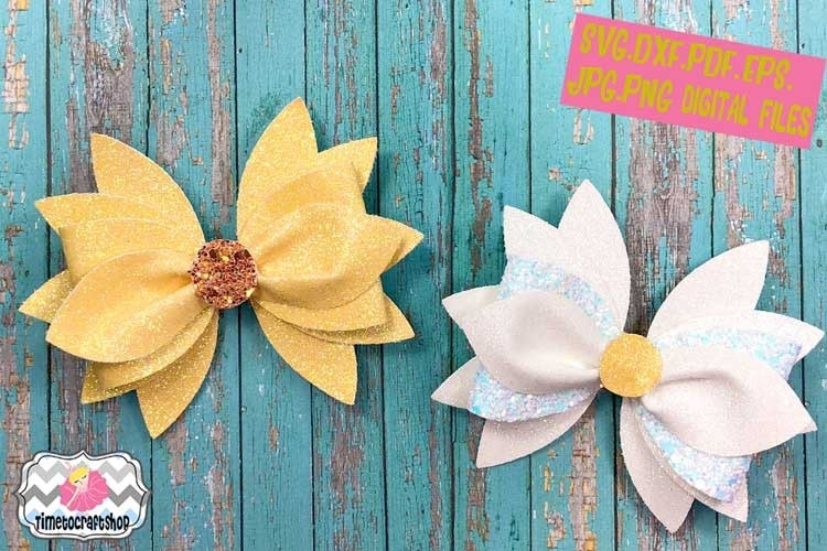 Hair Bow Templates