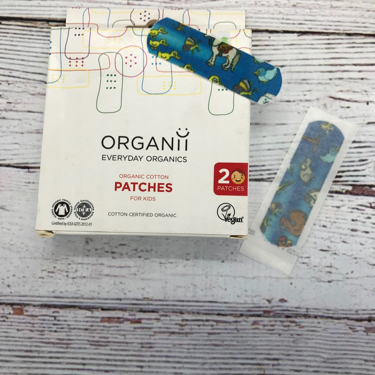 Organic Patches and Swabs